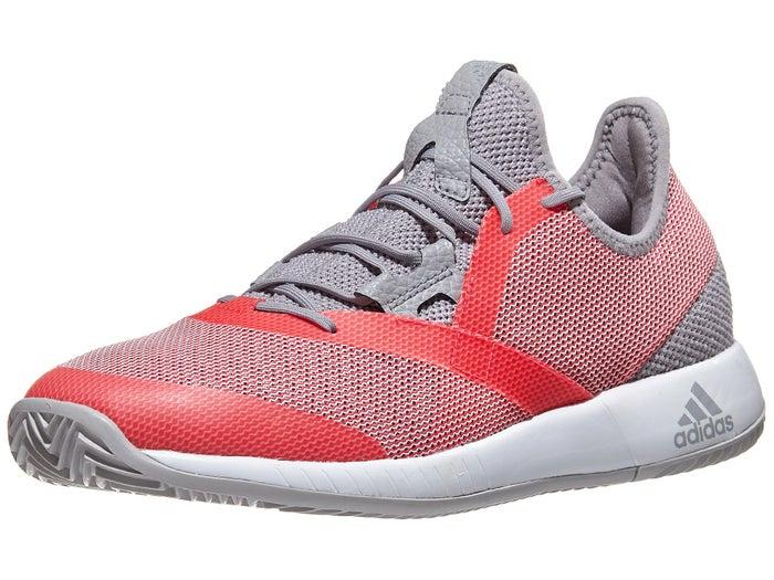 granero Corte capoc  adidas adizero Defiant Bounce Granite/Red Women's Shoes