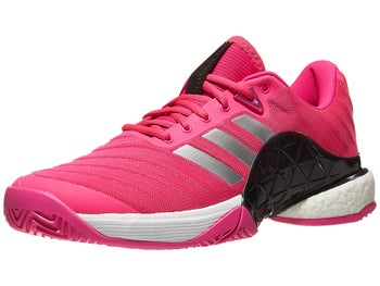 Product image of adidas Barricade 2018 BOOST Pink Silver Men s Shoes a031ae34e