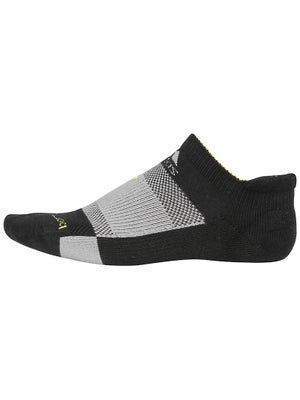 adidas Barricade No Show Socks Black