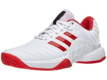 4c5084cf15dd38 Product image of adidas Barricade 2018 White Scarlet Women s Shoes