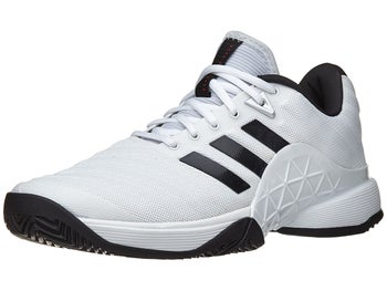 low priced f6ef1 0ae7d Product image of adidas Barricade 2018 WhiteBlackSilver Mens Shoes