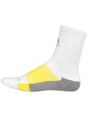 adidas Barricade Crew Socks White