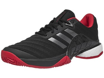 aa3255449e70 Product image of adidas Barricade 2018 Boost Black Scarlet Men s Shoes