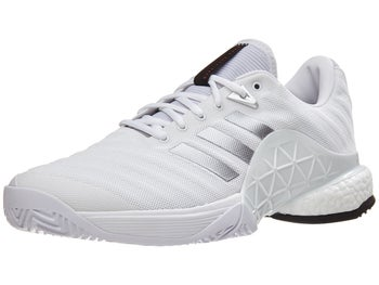 uk availability 68255 5e9bc Product image of adidas Barricade 2018 Boost White Silver Men s Shoes