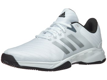 new style 18681 d2480 Product image of adidas Barricade Court 3 Wide WhiteSilver Mens Shoes