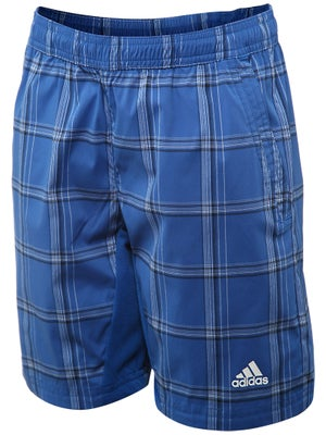 adidas Boy's Fall Sequential Plaid Short