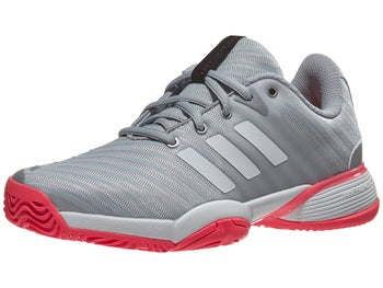 separation shoes 85d99 d2aa7 Product image of adidas Barricade 2018 XJ SilWhPi Junior Shoes