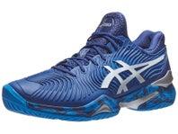 Asics Court FF 2 Novak Blue Print/White Men's Shoes