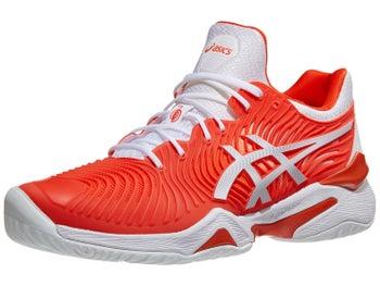 a6cd3e83df Asics Court FF 2 Novak Orange/White Men's Shoes