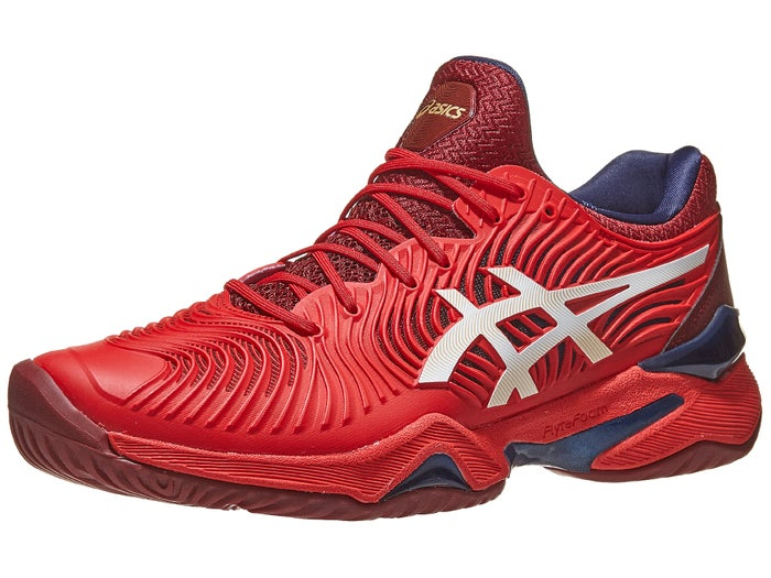 Asics Shoes Asics Court FF 2 Red/White Men's Shoes