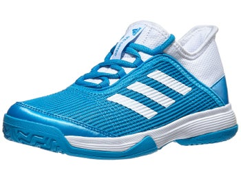 Product image of adidas adizero Club K Blue White Junior Shoes a33738dfcd