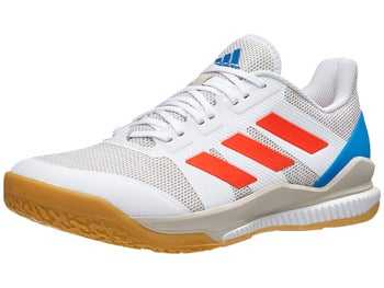 sports shoes 2498d 4bf2f Product image of adidas Stabil Bounce Mens Shoes - WhiteSolar Red