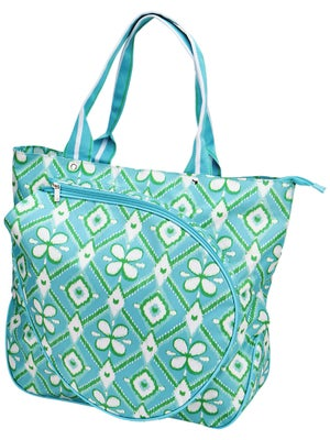 All For Color Tennis Tote Ikat Bliss