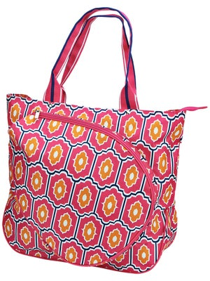 All For Color Tennis Tote Moroccan Tile