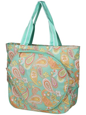 All For Color Tennis Tote Paisley Breeze