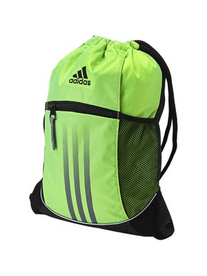 adidas Spring Alliance Sport Sackpack Bag Slime Green