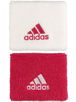 adidas Fall Small Wristband White/Bold Pink