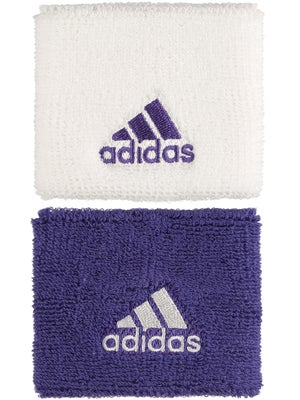 adidas Fall Small Wristband White/Power Purple