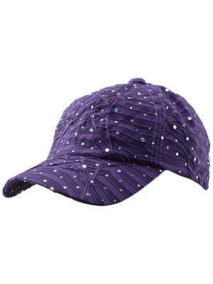 The Alabama Girl Glitter Hat Purple