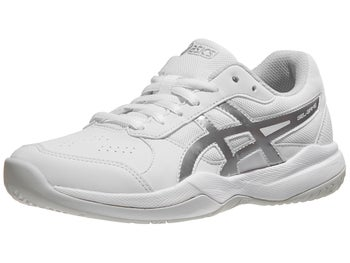 uk availability bfe8c 71150 Product image of Asics Gel Game 7 GS White Silver Junior Shoes