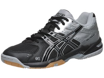 ASICS Gel Rocket 6 Black/Silver Men's Shoes