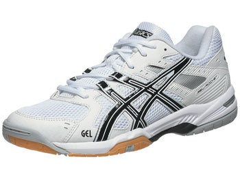 ASICS Gel Rocket 6 White/Black/Silver Men's Shoes
