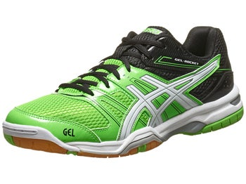 ASICS Gel Rocket 7 Green/White/Black Men's Shoes