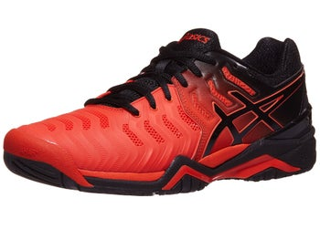 5dc26431c617 Product image of Asics Gel Resolution 7 Red/Black Men's Shoes