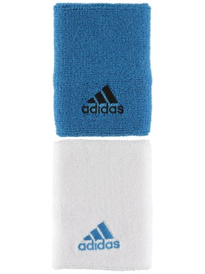 adidas Spring Large Wristband Blue/White