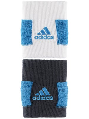 adidas Spring Large Wristband II White/Blue/Shade