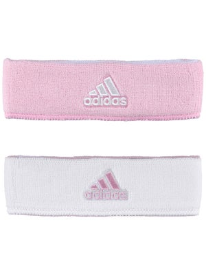 adidas Interval Reversible Headband Pink/White