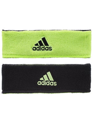 adidas Spring Interval Reversible Headband Slime/Black