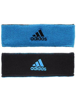 adidas Spring Interval Reversible Headband Blue/Black