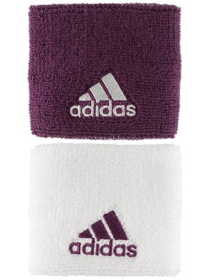 adidas Spring Small Wristband Purple/White
