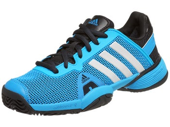 adidas Barricade 8 xJ Blue/White/Navy Junior Shoes