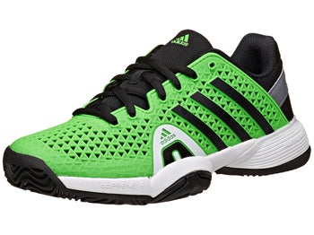 adidas Barricade 8+ Green/Black Junior Shoe