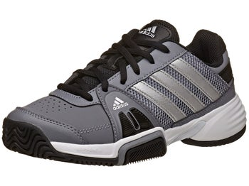 adidas Barricade Team 3 Grey/Silver Junior Shoe