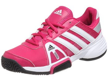adidas Barricade Team 3 xJ Pink/White Junior Shoes
