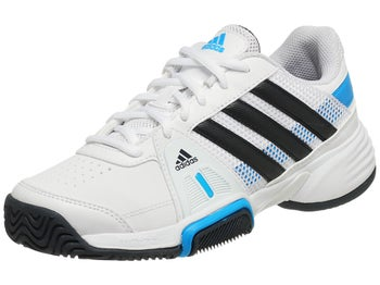 adidas Barricade Team 3 xJ Wh/Navy/Blue Junior Shoes