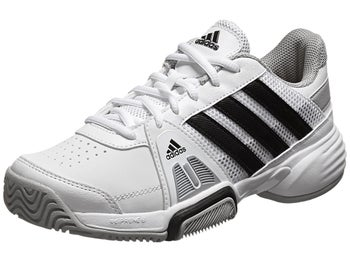 adidas Barricade Team 3 White/Black Junior Shoe