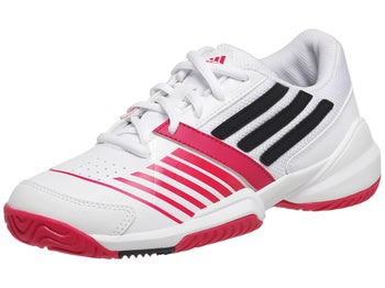 adidas Galaxy Elite III White/Navy/Berry Junior Shoe