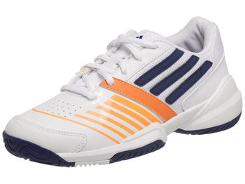 adidas Galaxy Elite III Wh/Navy/Solar Zest Junior Shoe