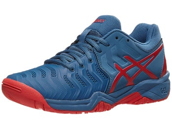 Product image of Asics Gel Resolution 7 GS Azure Red Junior Shoes e6a5e02afab0