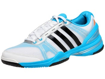 adidas Response CC Rally Comp Wh/Bk/Blue Junior Shoes