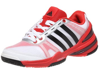 adidas Response CC Rally Wh/Bk/Red Junior Shoes