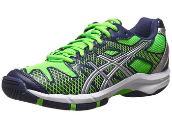 Asics Solution Speed 2 Navy/Green Junior Shoe