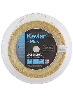 Ashaway Kevlar + Plus 17g 720' String Reel Gold/Black