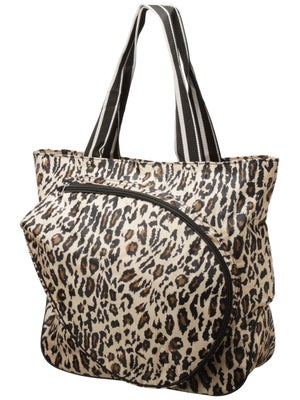 All For Color Tennis Tote Leopard