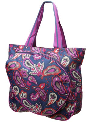 All For Color Tennis Tote Vivid Paisley