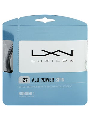 Luxilon ALU Power Spin 16 String